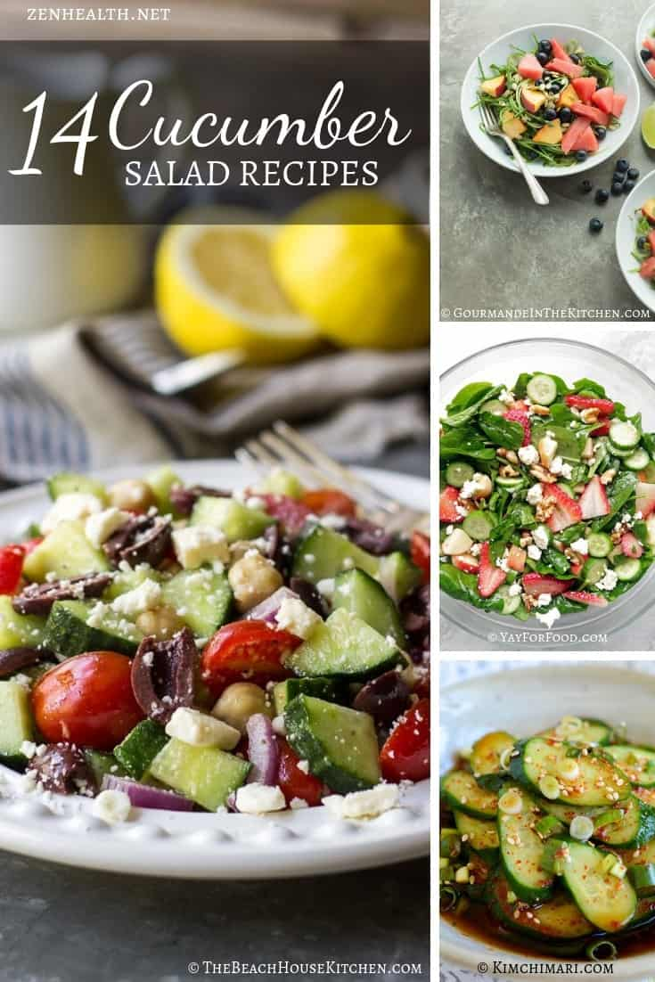 14 Cucumber Salad Recipes You Should Try