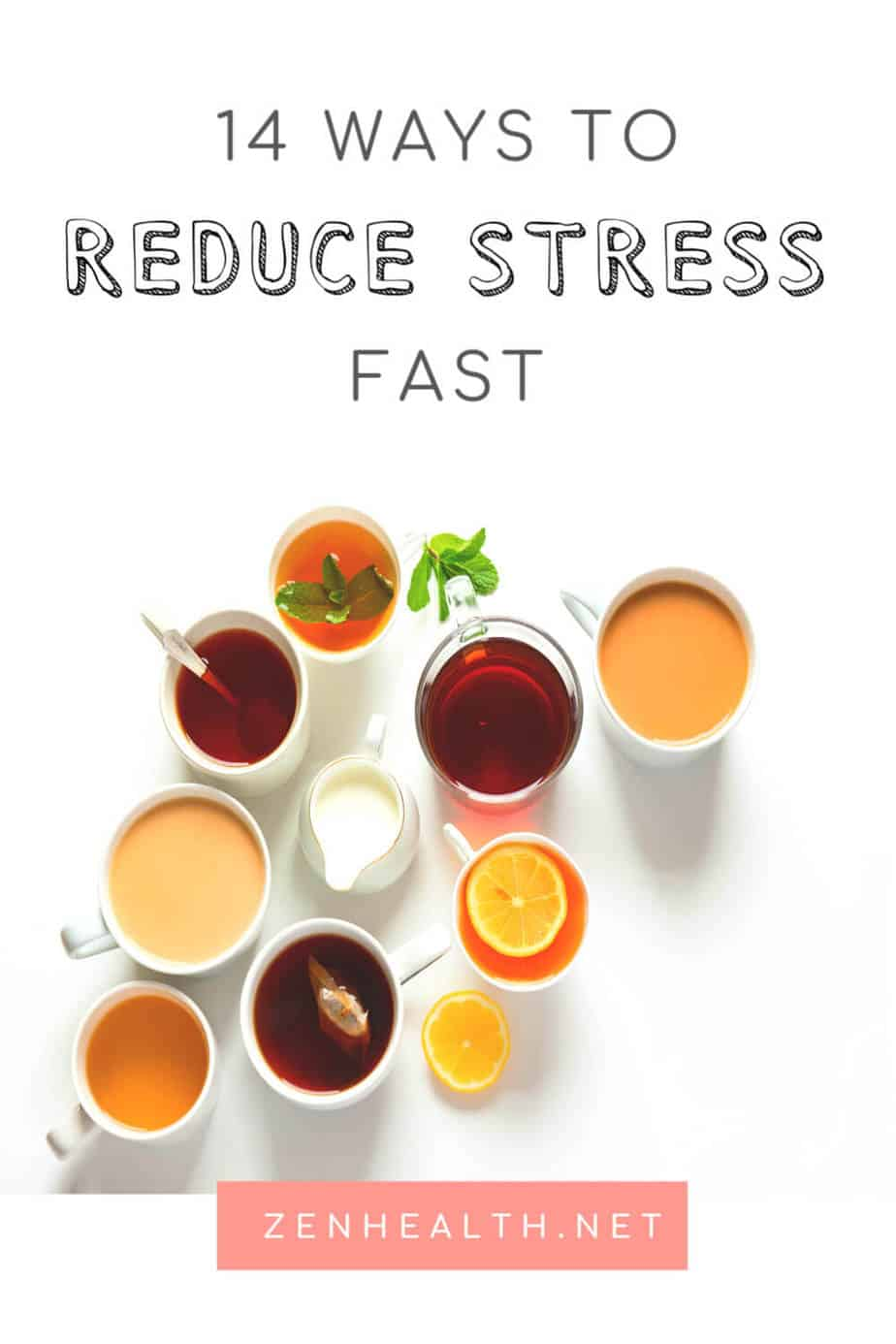 14 Ways to Reduce Stress #stressrelief