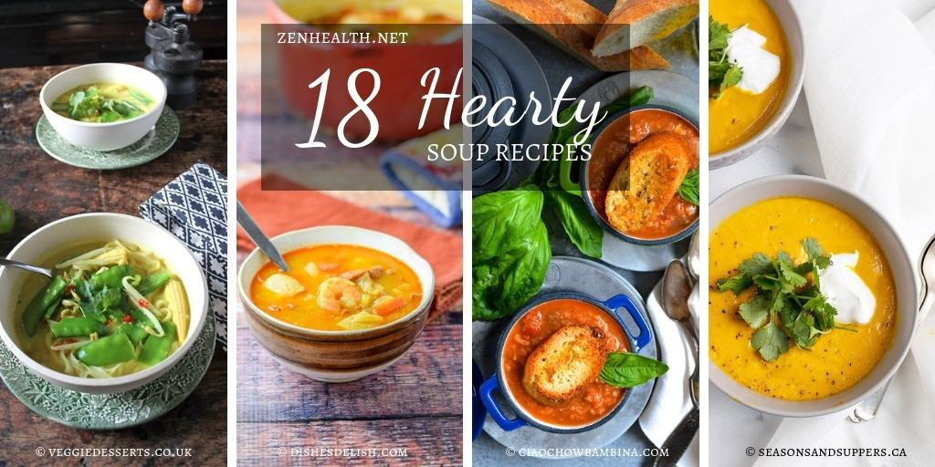 18 Hearty Soup Recipes for Winter