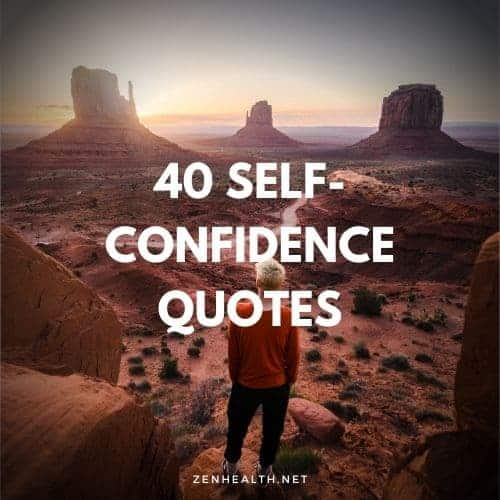 40 self confidence quotes