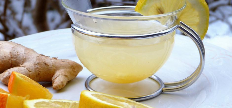 Ginger and Citrus Tea