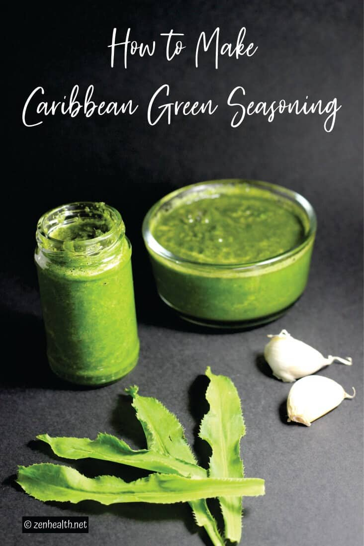 How to Make Caribbean Green Seasoning