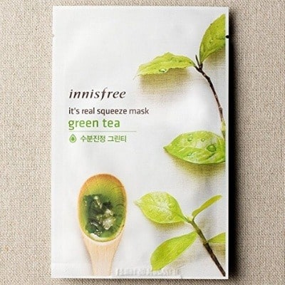 Innisfree It's real squeeze mask - Green tea