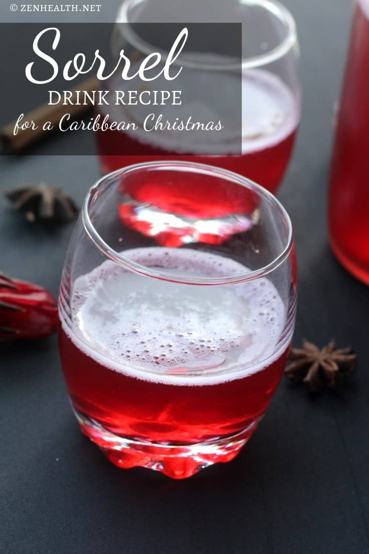 Sorrel Drink Recipe: for a Caribbean Christmas