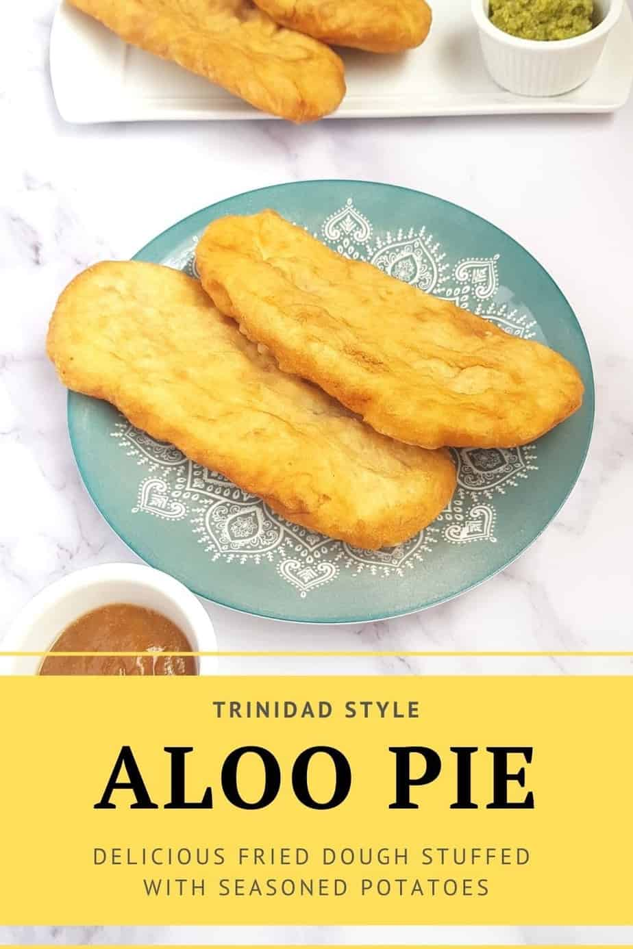 Aloo pie pinterest pin