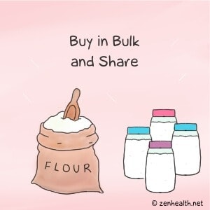 Buy in bulk and share