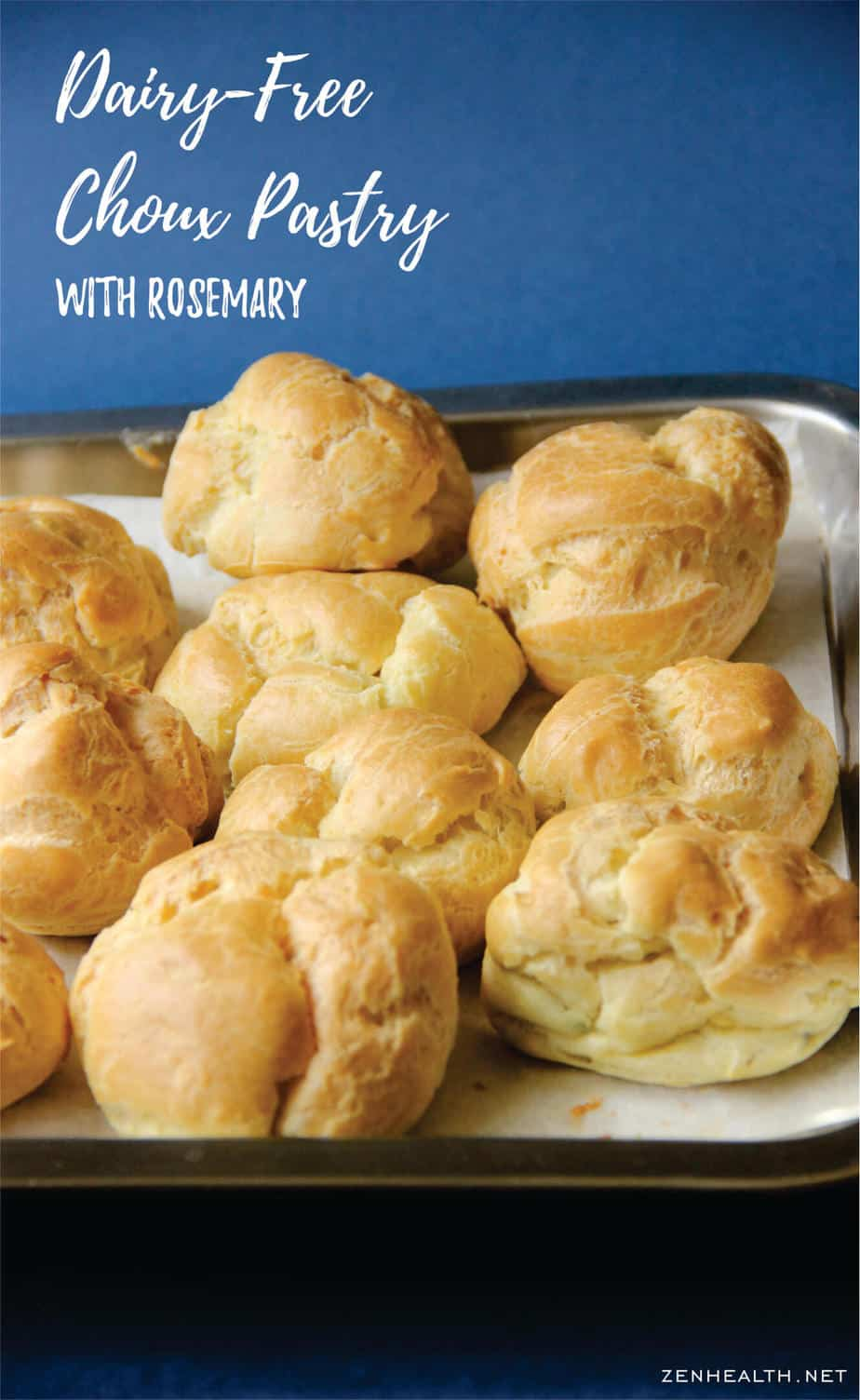 Dairy Free Choux Pastry Recipe
