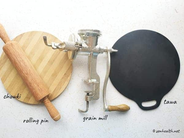 equipment for making dhalpuri