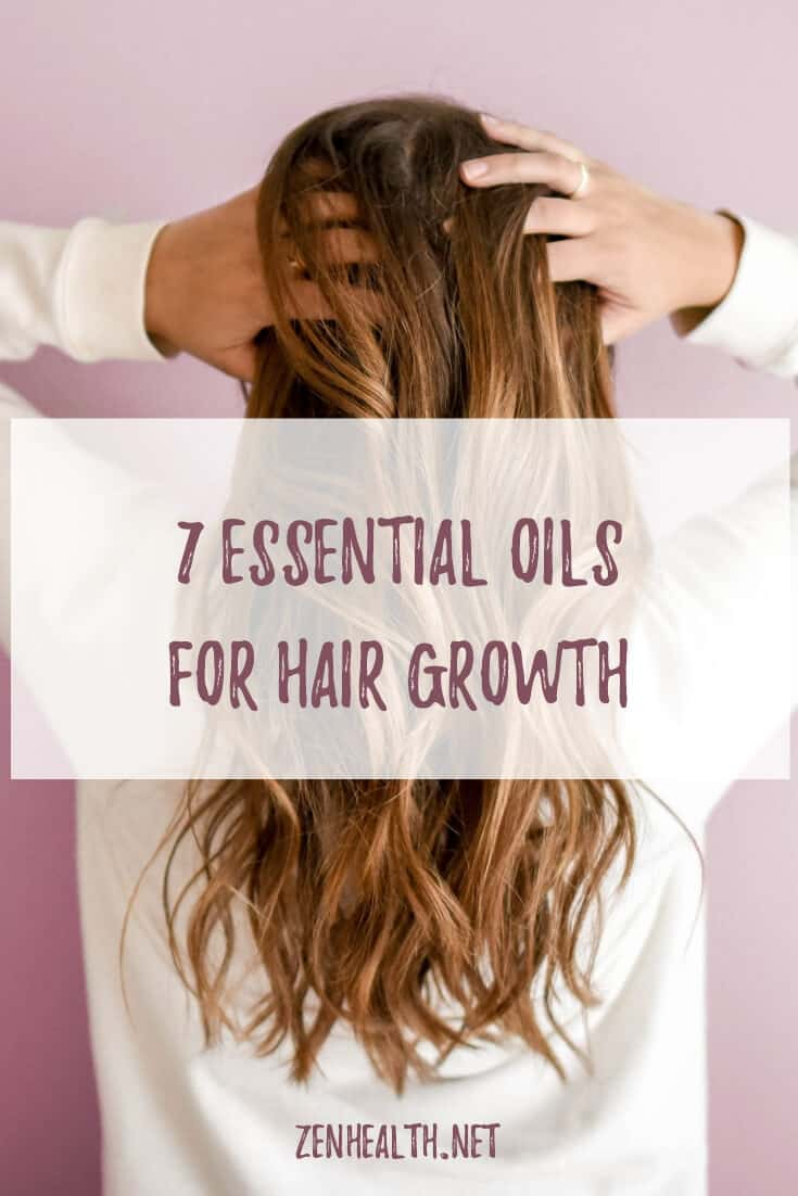 7 Essential Oils for Hair Growth #essentialoilsforhairgrowth #essentialoils