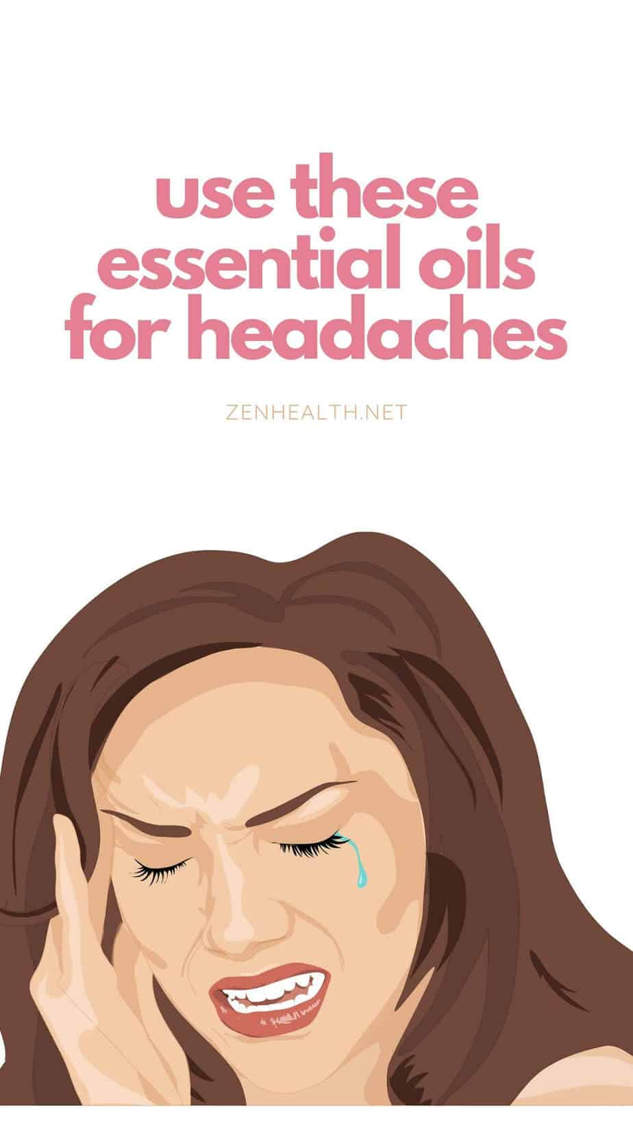 Essential Oils for Headaches #essentialoils #essentialoilsforheadaches