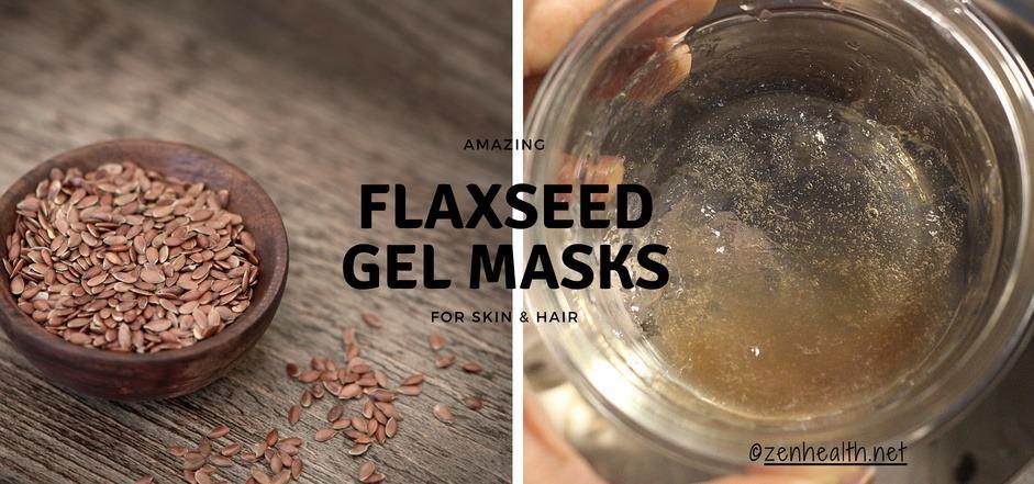 Flaxseed Gel Masks