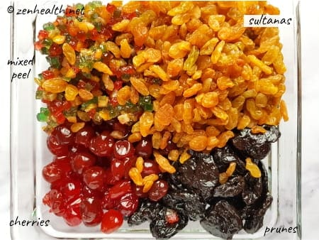 fruits for trinidad black cake