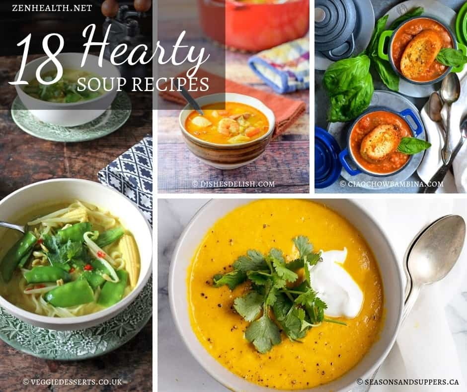 18 Hearty Soup Recipes to Keep You Warm This Winter