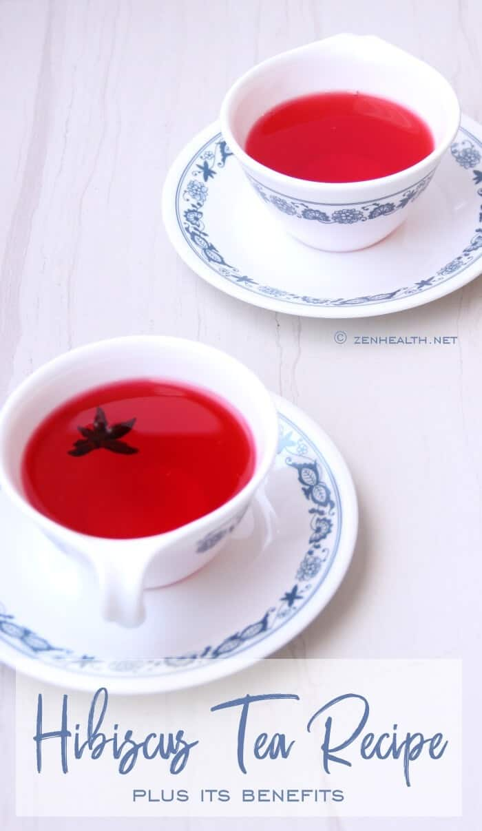 Hibiscus Tea Recipe Plus Its Benefits #hibiscustea #hibiscustearecipe #sorrel #sourtea