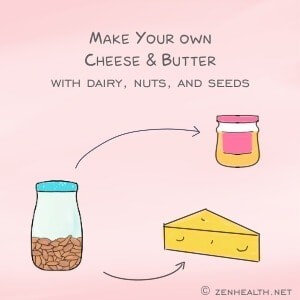 Make your own homemade cheese and butter