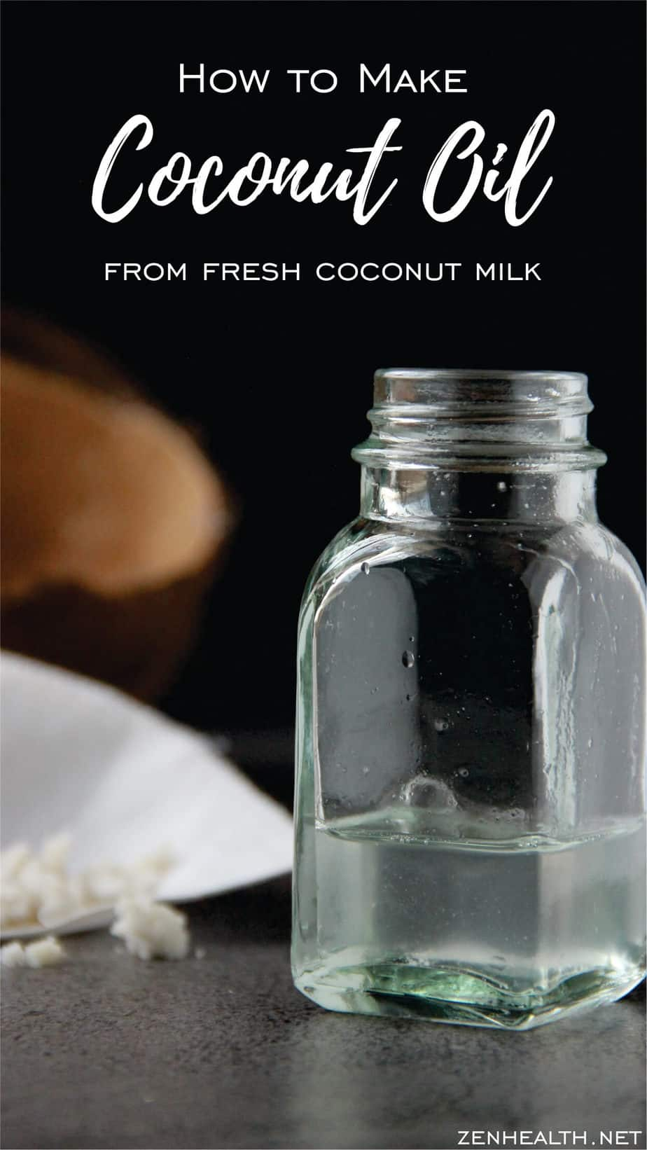 How to Make Coconut Oil from Fresh Coconut Milk