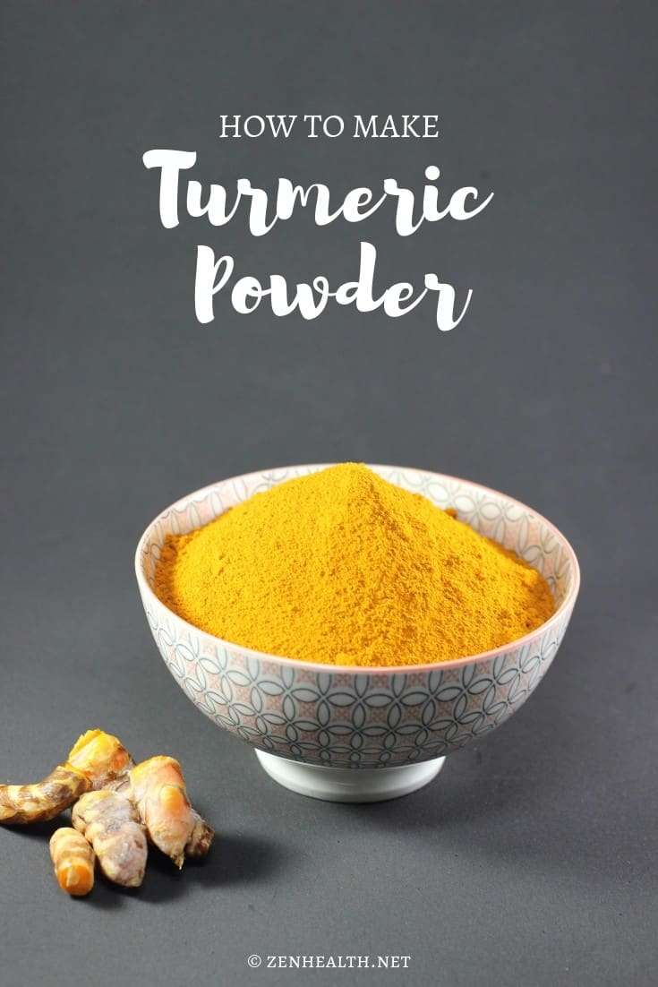 How to Make Turmeric Powder