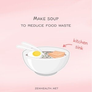 Make soup to reduce waste
