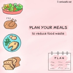 Reduce Food Waste: Plan Your Meals