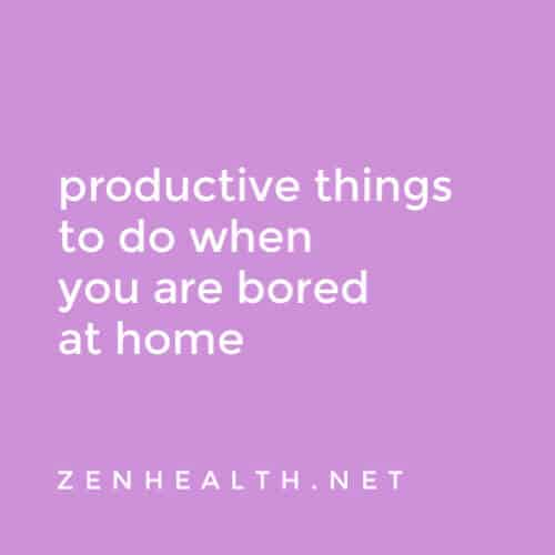 10 Productive things to do when you are bored at home (featured)