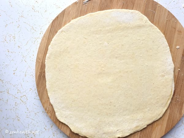 rolled out dosti roti
