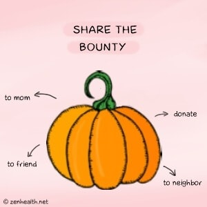 Share the bounty to reduce food waste