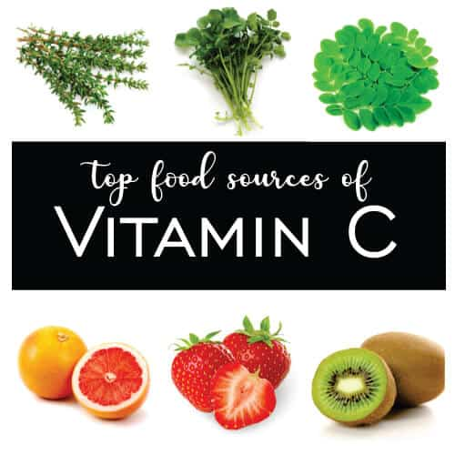 Sources of Vitamin C