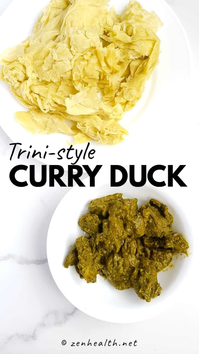 Trini-style curry duck recipe