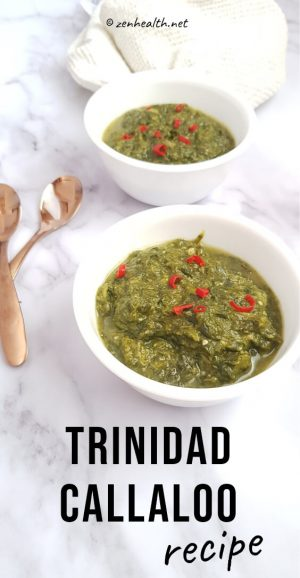Trinidad callaloo recipe #trinidadfood #caribbeanfood #taro #dasheen
