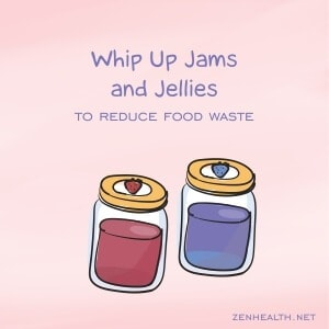 Whip up jams and jellies with excess fruits